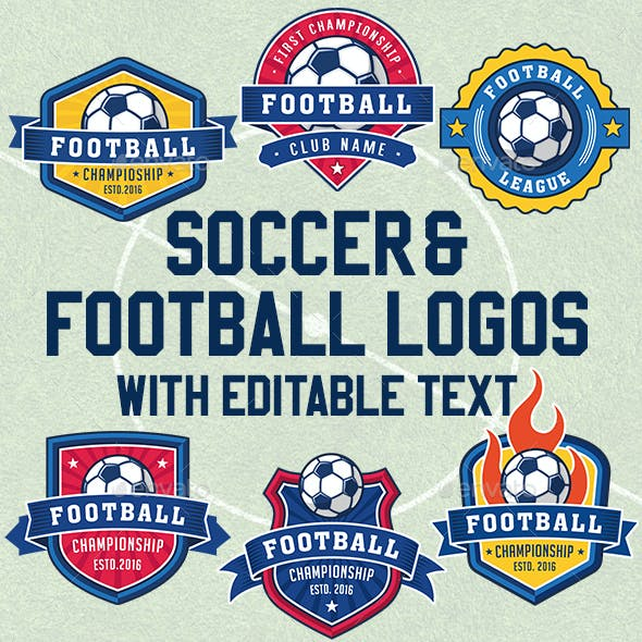 Football and Soccer Logos
