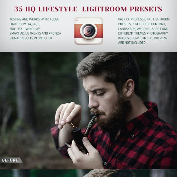 35 HQ Lifestyle Lightroom Presets
