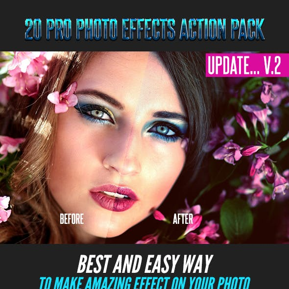 20 Pro Photo Effects Action