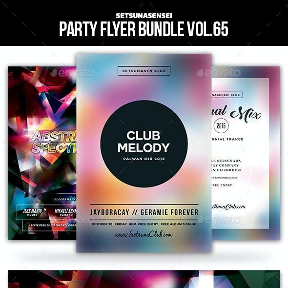Party Flyer Bundle Vol.65