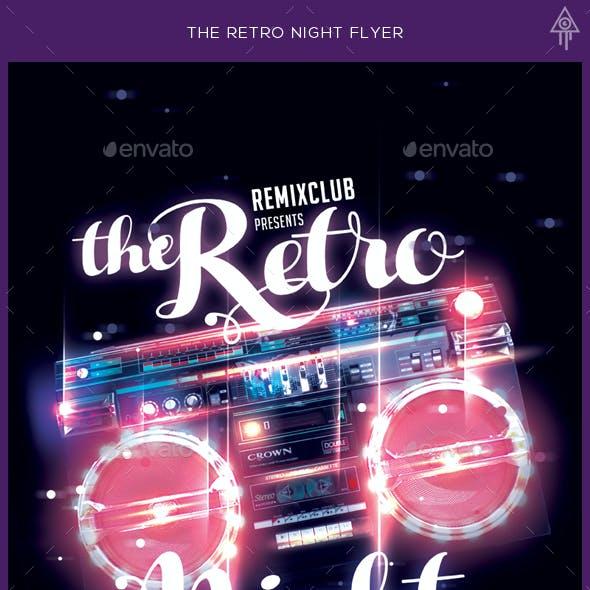 The Retro Night Flyer