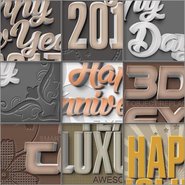 Luxury Text Styles V17