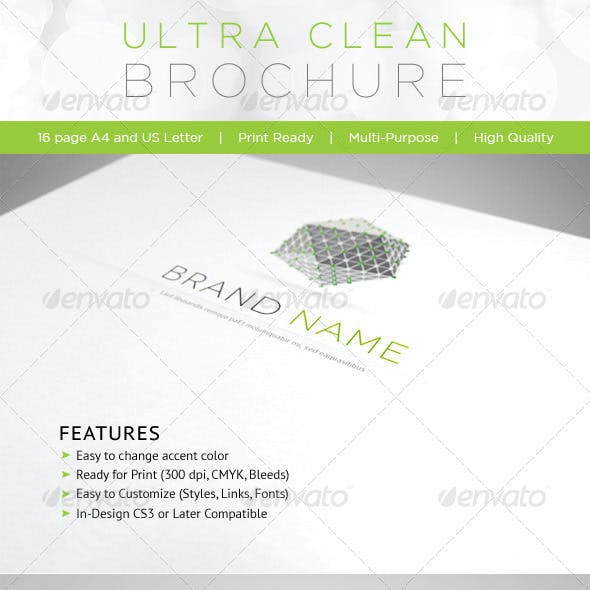 Ultra Clean Brochure