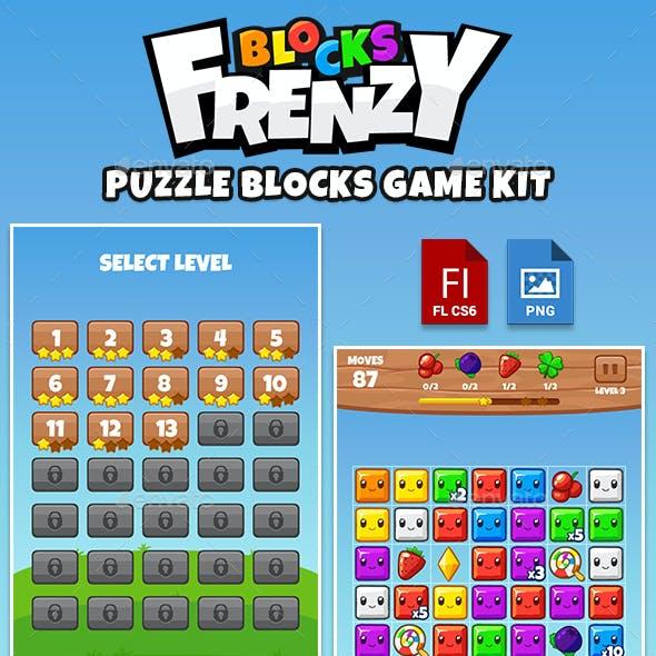 Blocks Frenzy Puzzle Kit