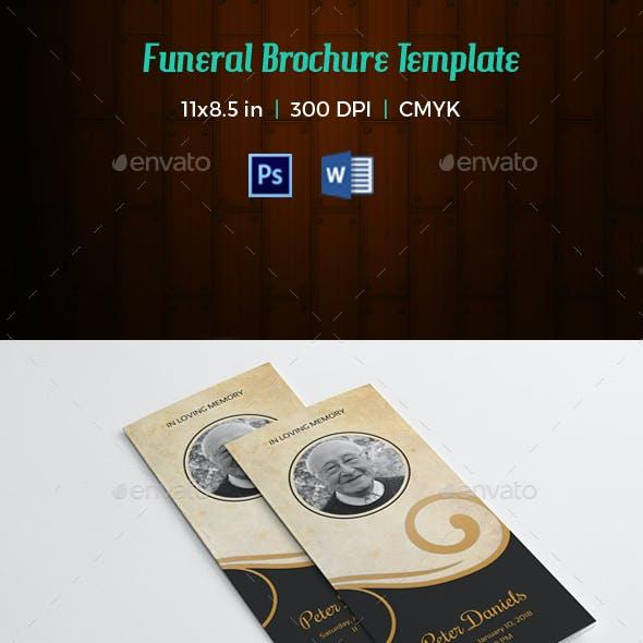 funeral program Template-v96