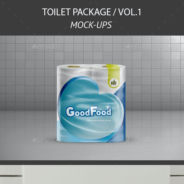 Realistic Toilet Paper Package v.1