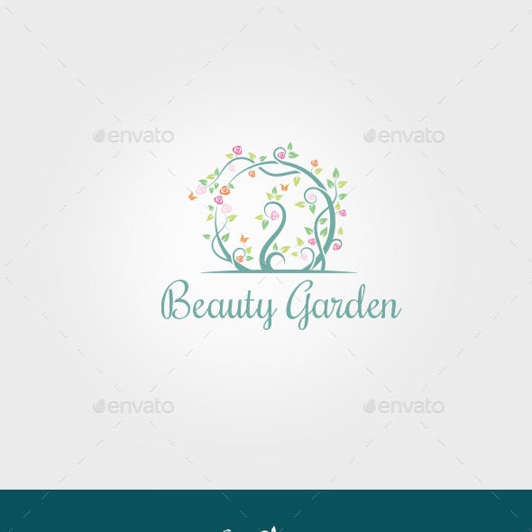 Beauty Garden Logo Template