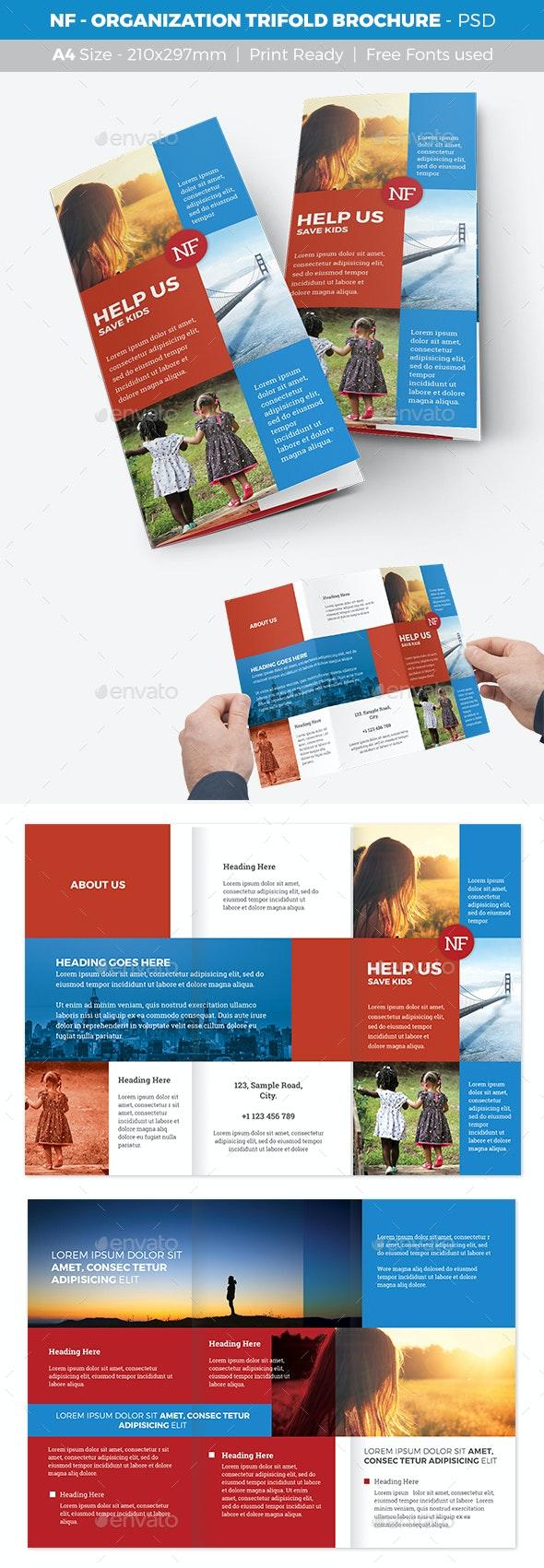 NF - Organization Trifold Brochure - Informational Brochures