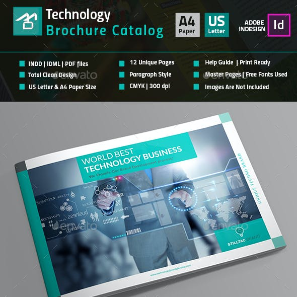 Technology Brochure Catalog_(12 Pages)