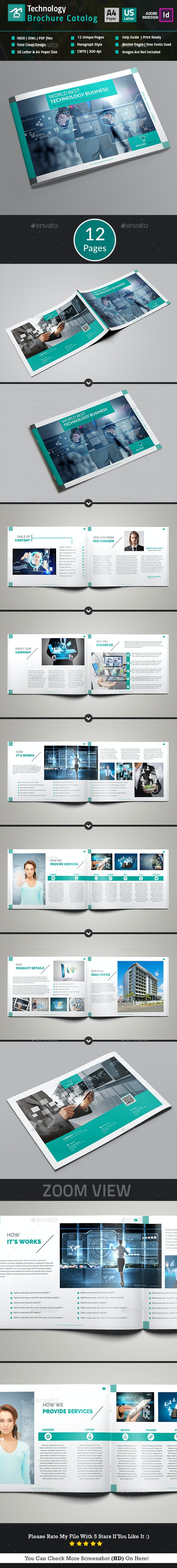 Technology Brochure Catalog_(12 Pages) - Catalogs Brochures