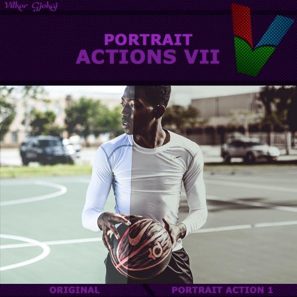 Portrait Action VII