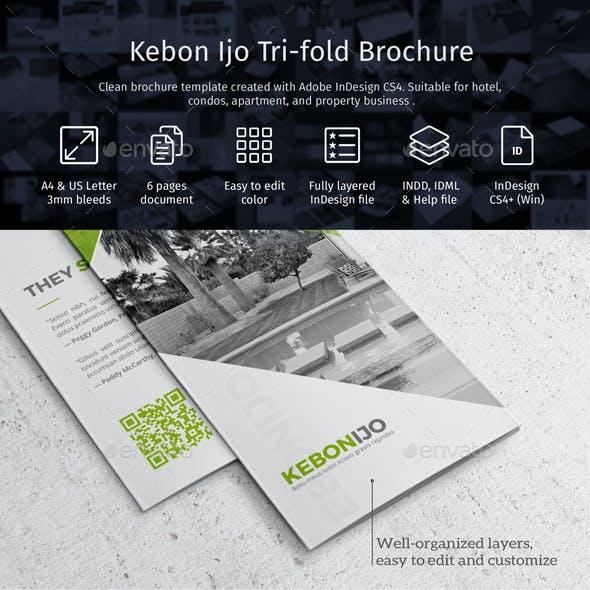 Kebon Ijo Trifold Template