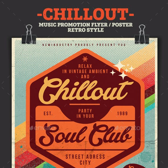 Chillout Print Ready Stationery and Design Templates