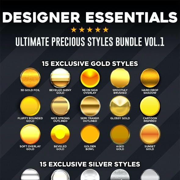 Designer Essentials Ultimate Precious Styles Bundle Vol.1