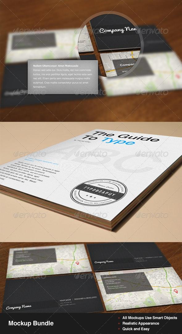 Mockup Bundle - Miscellaneous Print