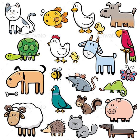 Animals pet