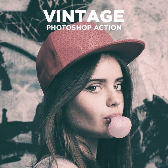 Vintage - Photoshop Action