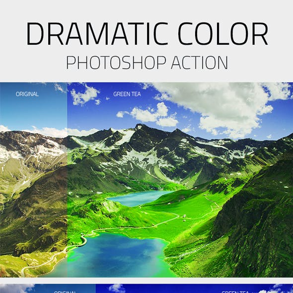 Dramatic Lightroom Effects Photoshop Action