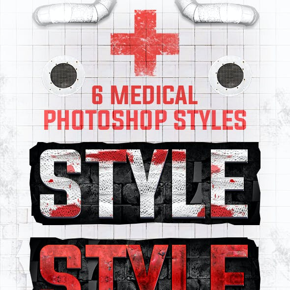 6 Medical Photoshop Styles