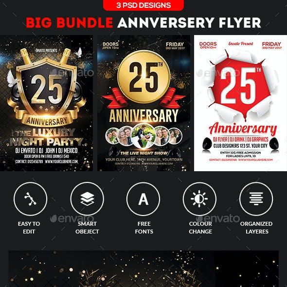Anniversary Flyer Bundle