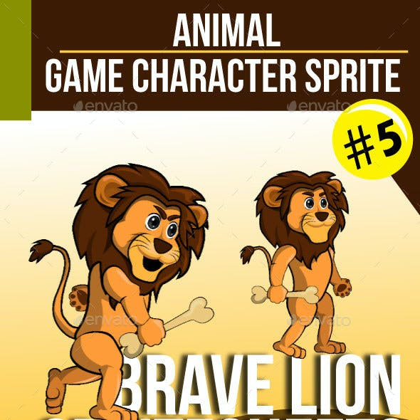 Game Character : Brave Lion