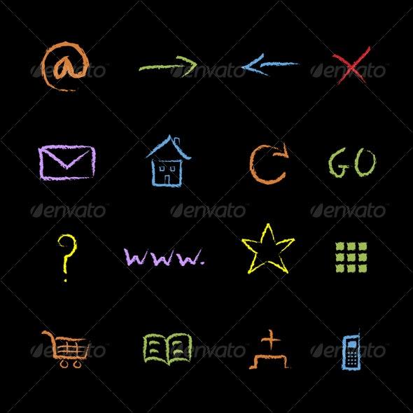 Internet Symbols - Web Technology