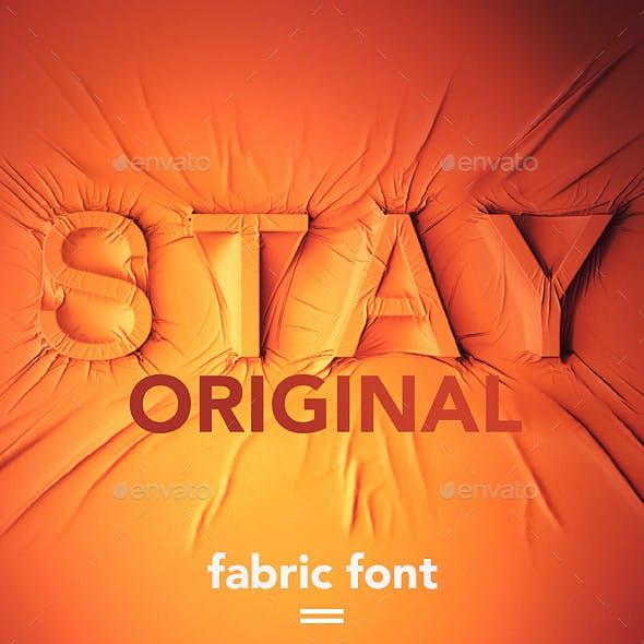 Fabric Font