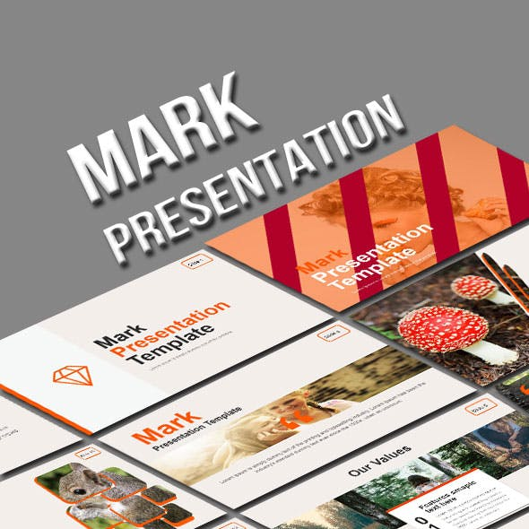 Mark Powerpoint Creative Theme