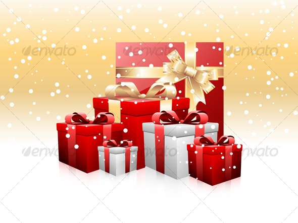 Heaps of gifts  - Christmas Seasons/Holidays