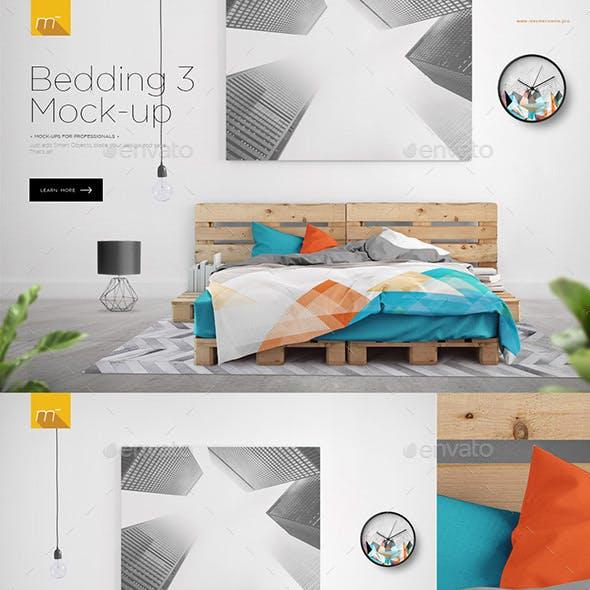 Bed on Pallets Mock-up