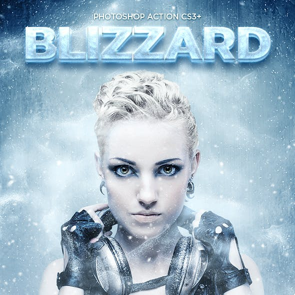 Blizzard Photoshop Action CS3+