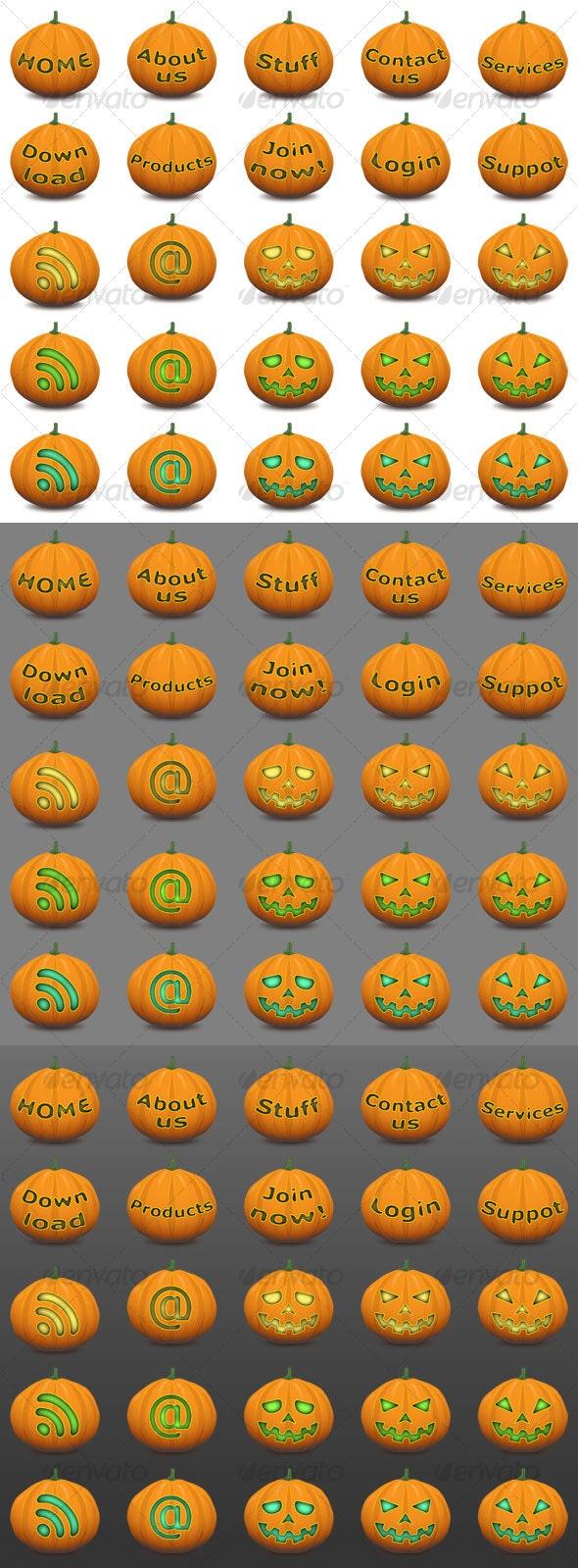 Pumpkins 2009 - Halloween Seasons/Holidays