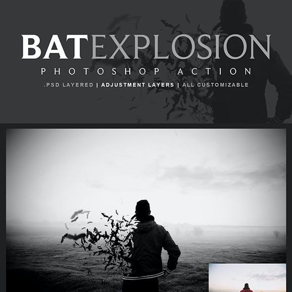 Bat Explosion Action