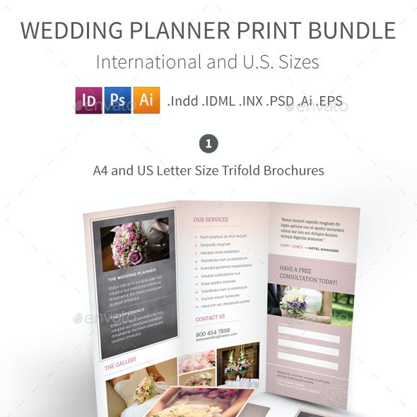 Wedding Planner Print Bundle