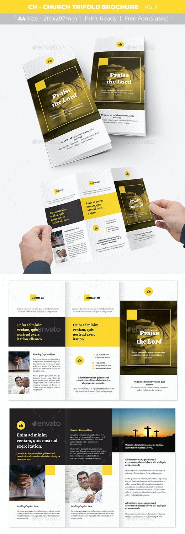 CH - Church Trifold Brochure - Informational Brochures