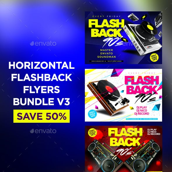 Flashback Flyers Bundle V3