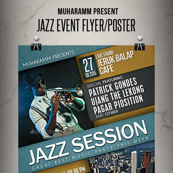 Jazz Event Flyer/Poster