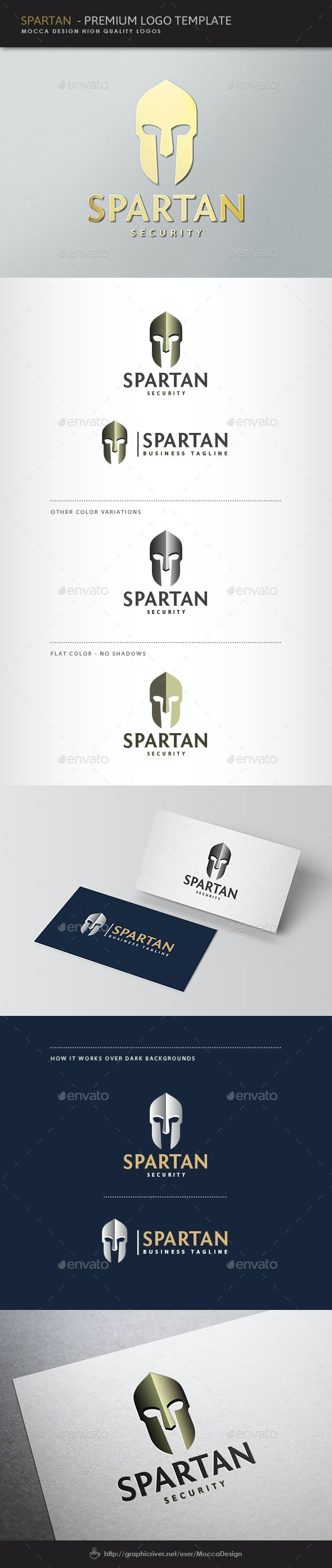 Spartan Logo - Objects Logo Templates