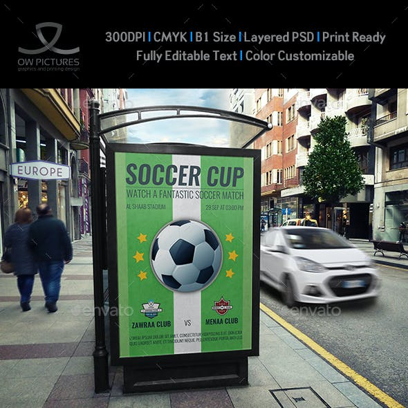 Soccer  - Football Poster Template