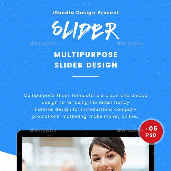Multipurpose Slider - 05 PSD