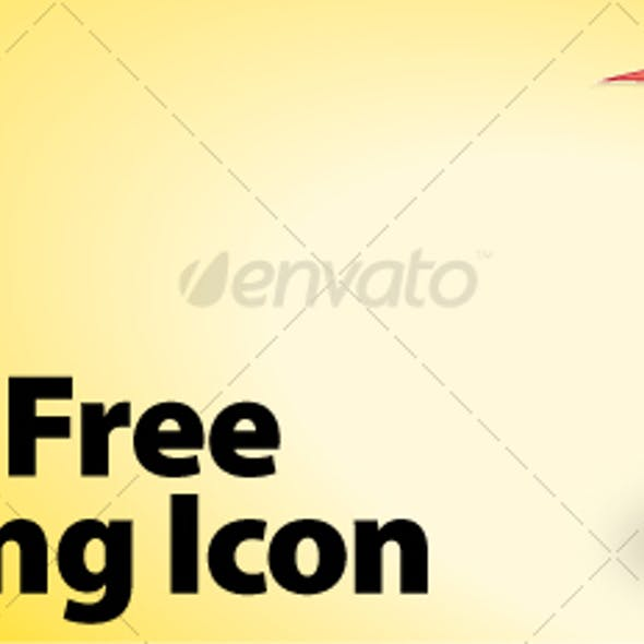 Vector Free shipping Icon