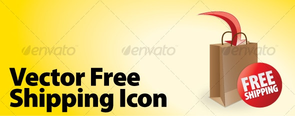 Vector Free shipping Icon - Decorative Vectors