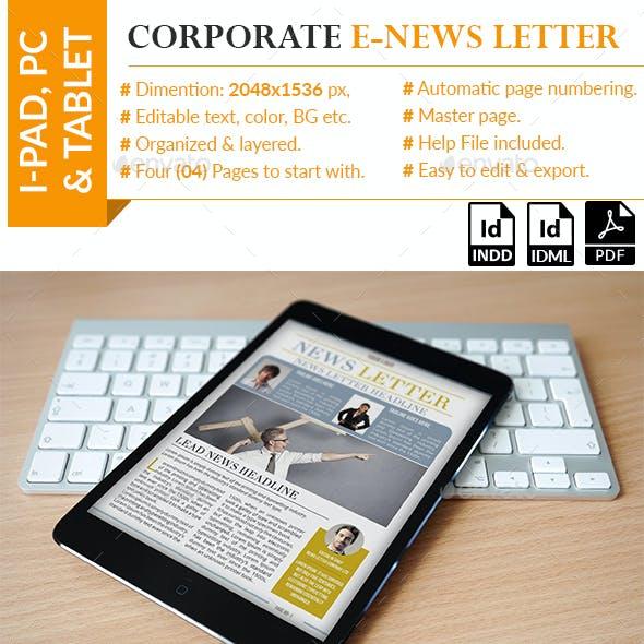 Corporate E-News letter