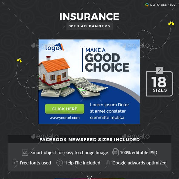 Insurance Ad Banners