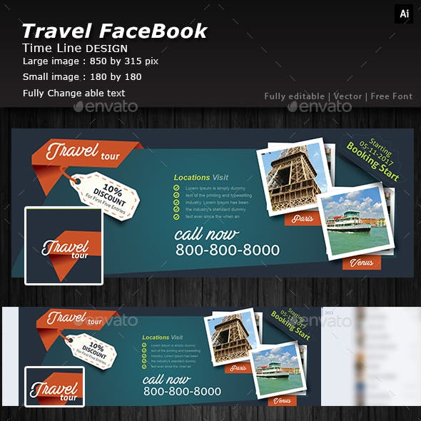 Traveling Facebook Cover