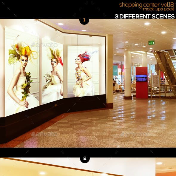 Shopping Center Vol.18 Mock Ups Pack