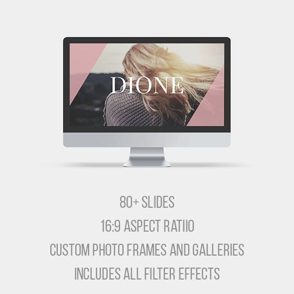 Dione Keynote Template