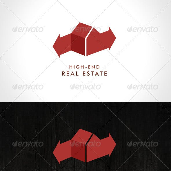 High-End Real Estate Logo