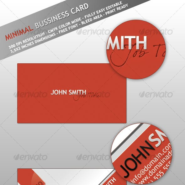 Minimal - Smart Bussiness Card