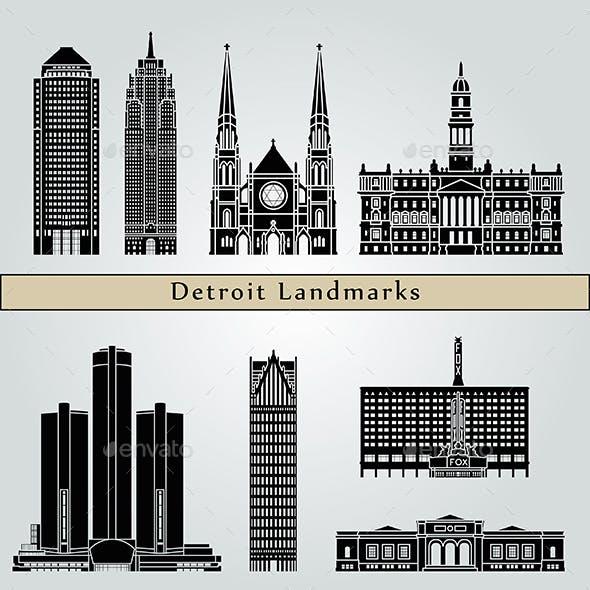 Detroit Landmarks and Monuments